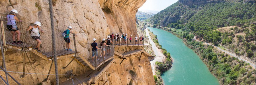 Rent a car with Malaga All Included Car Hire and visit Caminito del Rey